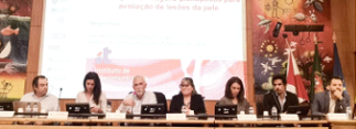 Help2care researcher present at conference in Leiria Hospital Center